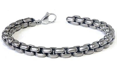 Titanium 7MM Box Link Bracelet