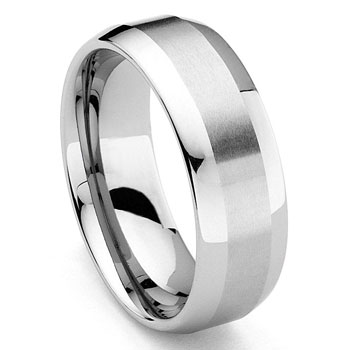 Tungsten Carbide Wedding Band Ring :  man design wedding designer