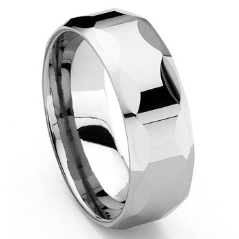 EPICA Men's Tungsten Carbide Wedding Band