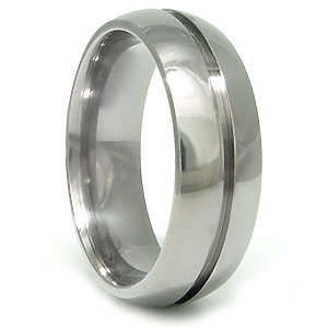 Titanium Promise Ring (7mm)