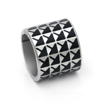 ST Dupont Arrow Pattern D-Link Ring