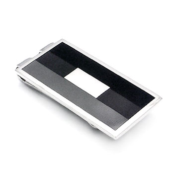 COLIBRI Stainless Steel 3 Color Lacquer Money Clip