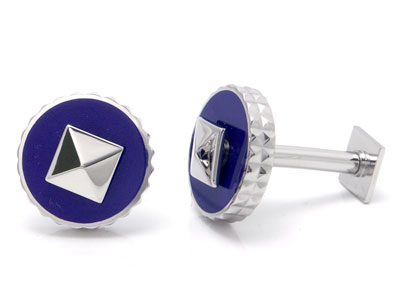 ST Dupont Palladium Purple Reversible Cufflinks