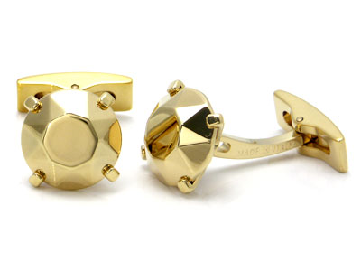 ST Dupont Gold Gem Cufflinks