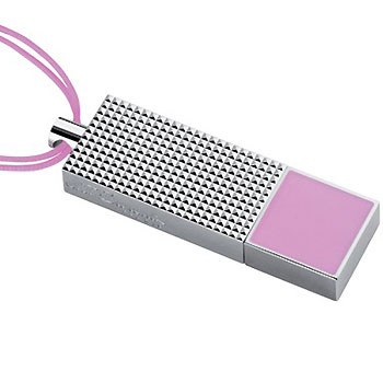 ST Dupont 2GB USB Pink Lacqer Flash Drive Key