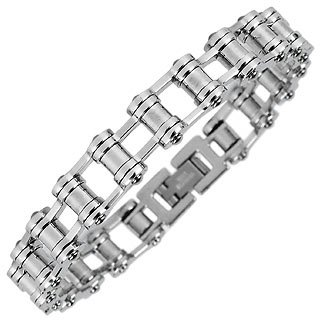 Bicycle Link Titanium Men's Bracelet