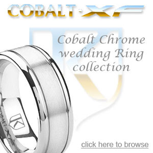 Cobalt Chrome Vs Titanium and Tungsten Carbide Rings