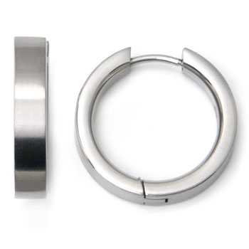Titanium 20MM Hoop Earrings
