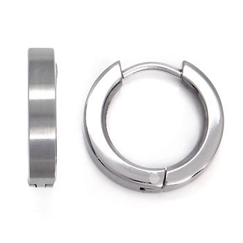 Titanium Huggie Earrings