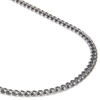 Titanium 3MM Curb Necklace Chain
