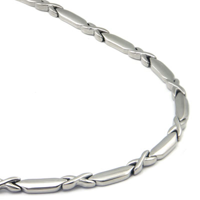 Stainless Steel Men's Link Necklace Chain