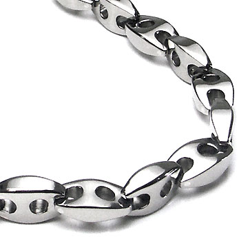 Titanium Men's Link Necklace Chain :  necklace jewelry jewellery titanium