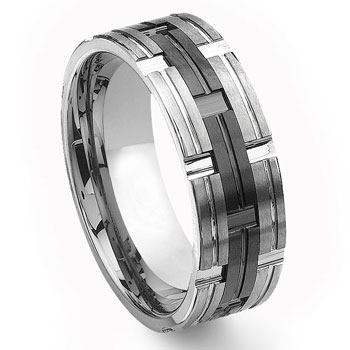 2nd Generation Tungsten Carbide Wedding Band Ring