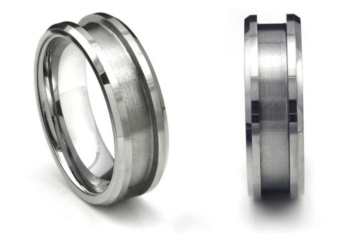 Stainless Steel Rings Blank
