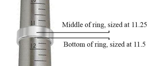 Tungsten Carbide Wedding Band Ring Sizing Tips