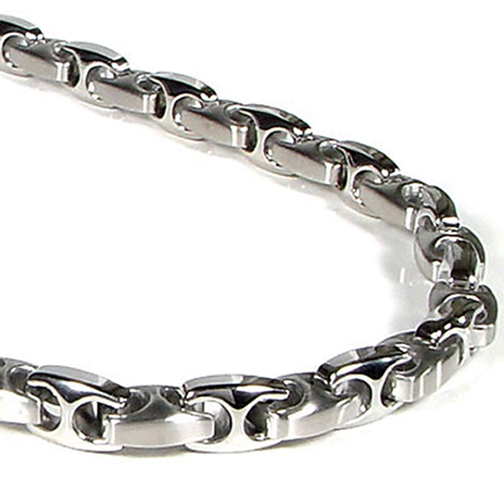 nitrogen stainless steel men 39 s link necklace chain. Black Bedroom Furniture Sets. Home Design Ideas