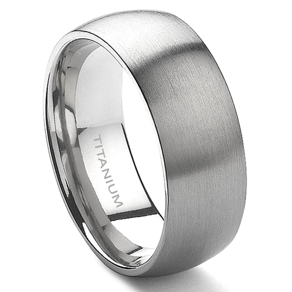 ring wedding rings grooved tungsten with solasius gun metal center rose gold grey brushed