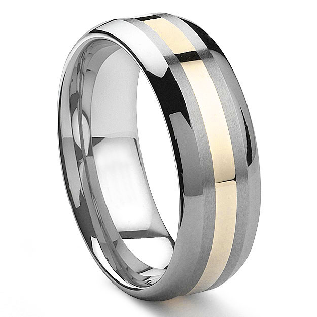 Tungsten Ring Blanks For Inlay