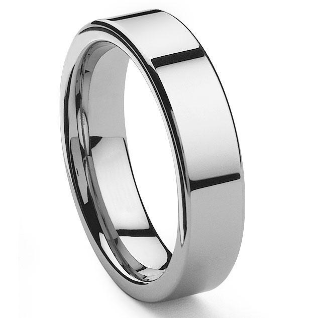 TYCHO Tungsten Carbide Wedding Band Ring