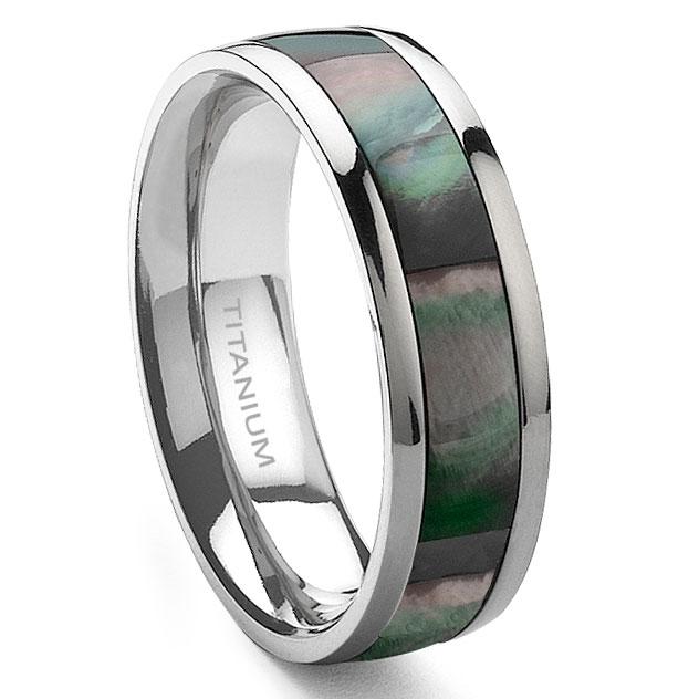 home mens titanium wedding rings loading zoom - Titanium Wedding Rings