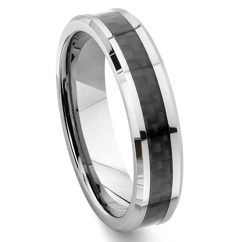 loading zoom - Carbon Fiber Wedding Rings