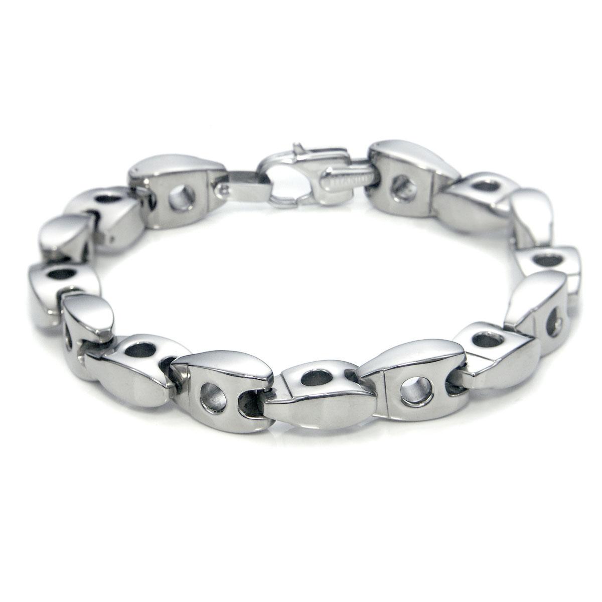 s 10mm titanium link bracelet