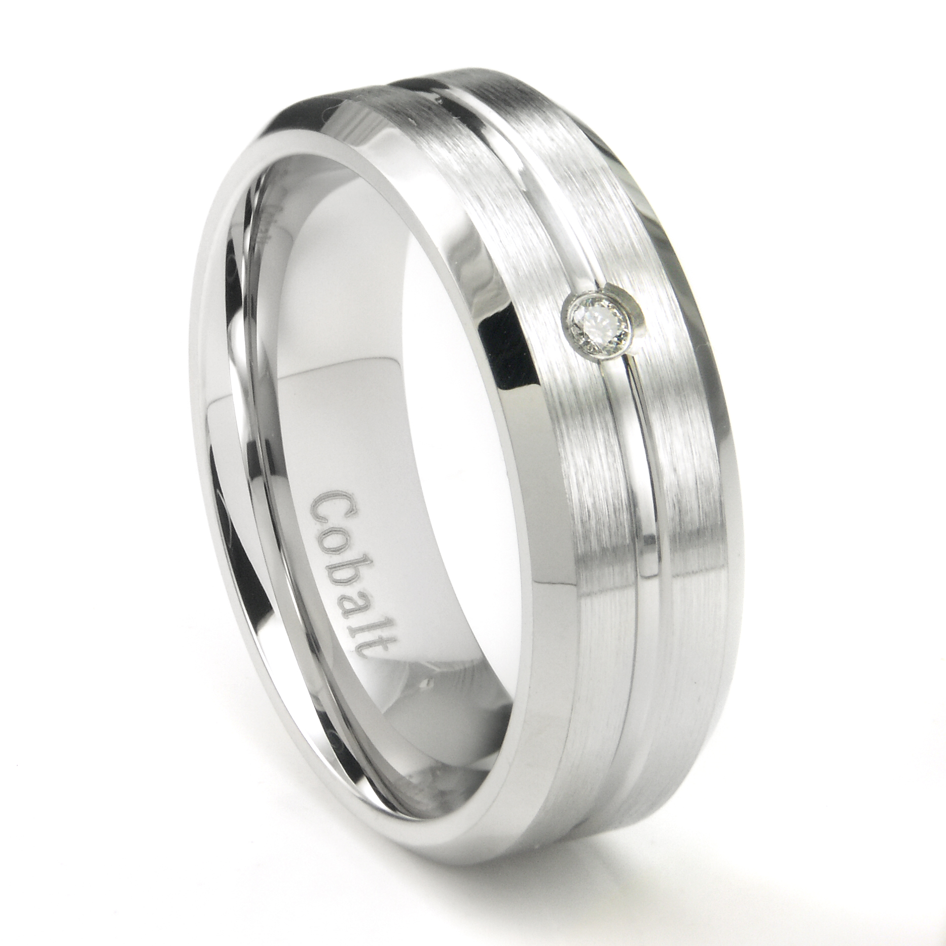 Cobalt Chrome Wedding Bands and Rings Titanium Kay