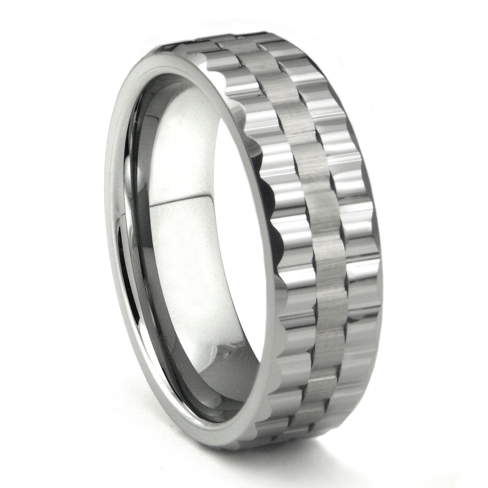 Mens Tungsten Rings & Wedding Bands 2 Titanium Kay