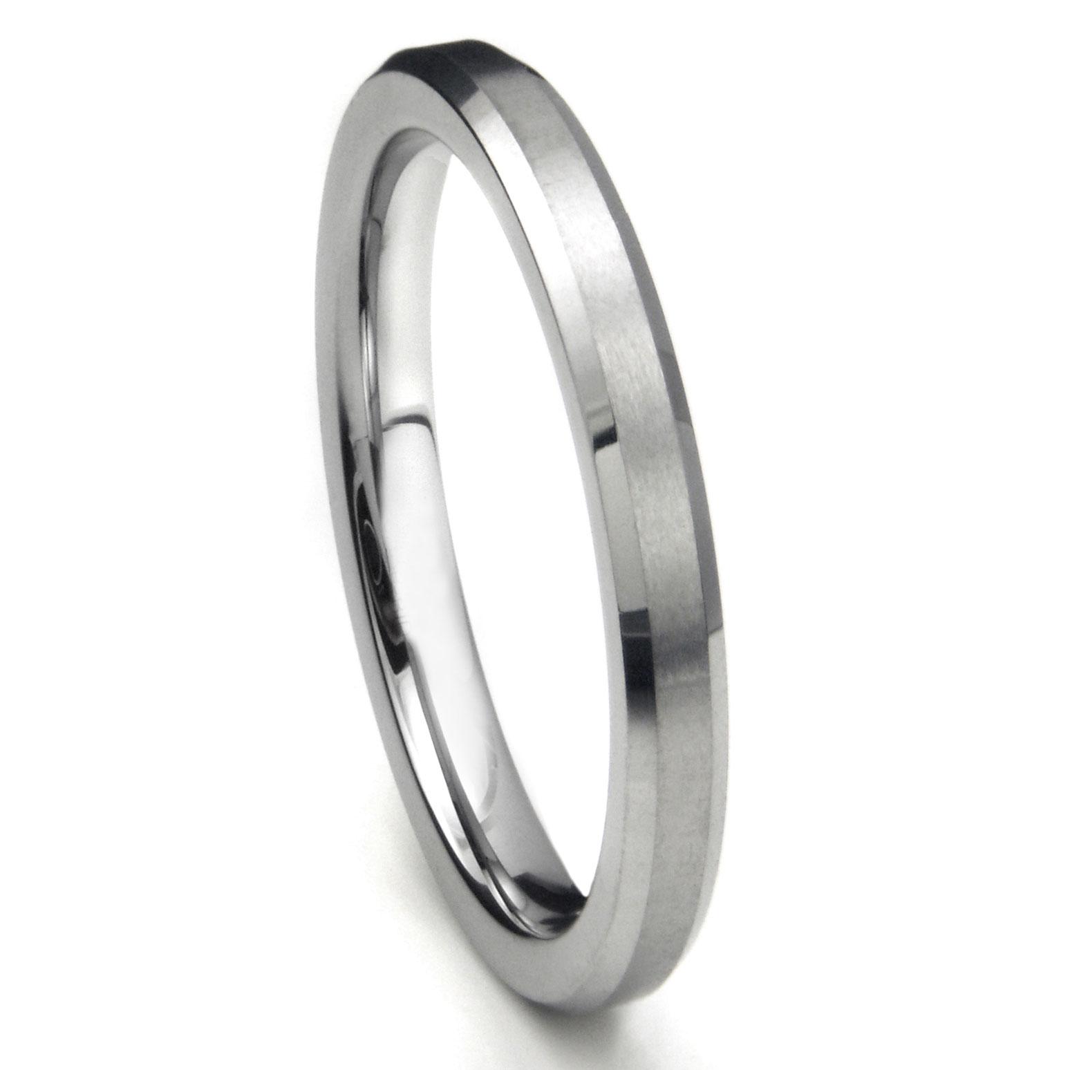 You May Also Like Black Tungsten Carbide Wedding Band: Gunmetal Thin Wedding Band At Reisefeber.org