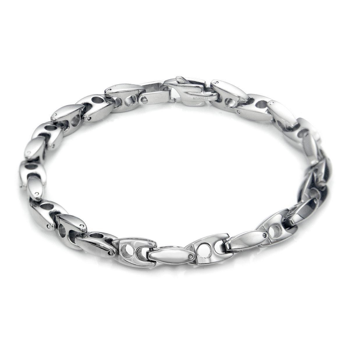 titanium s 7mm link bracelet