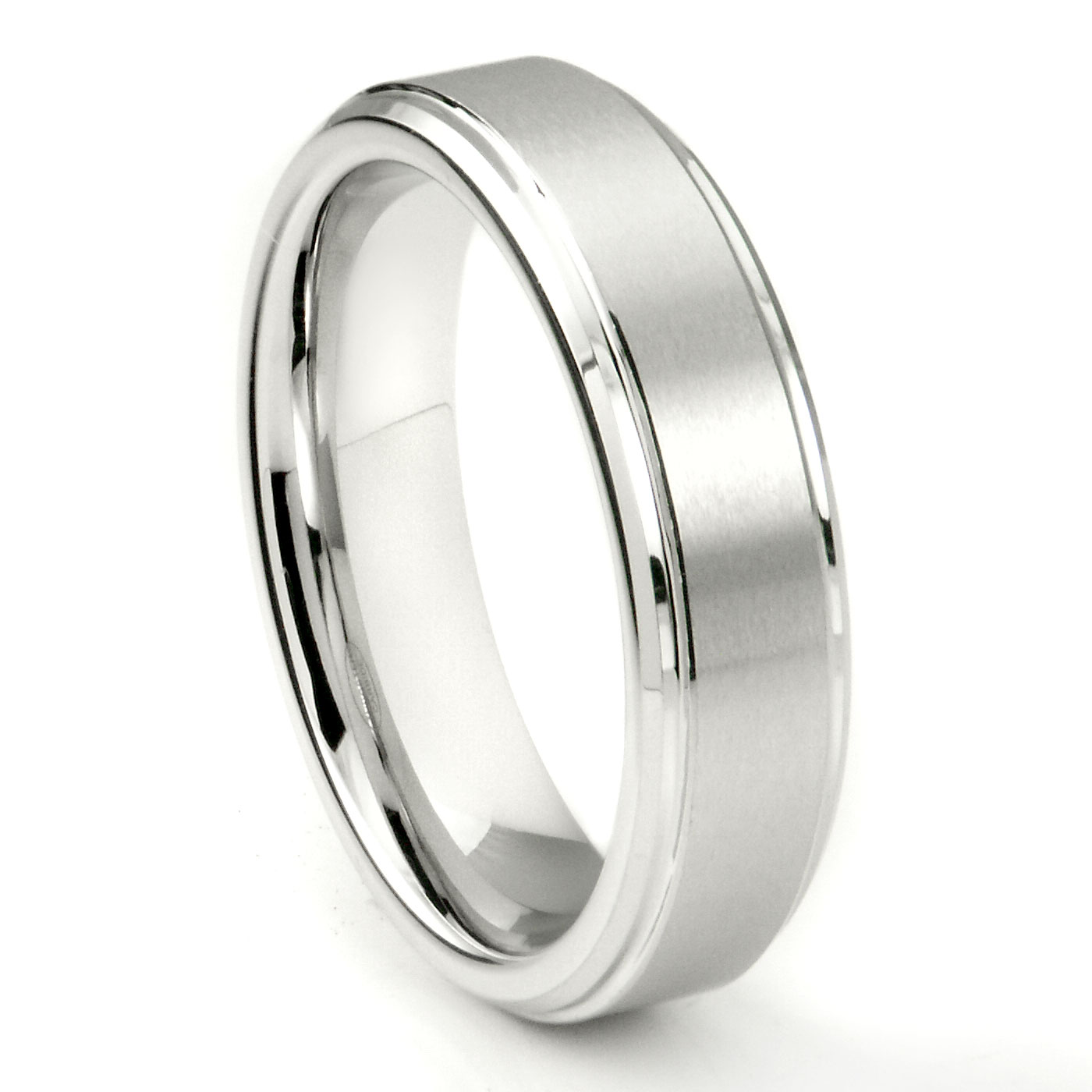 black band loading w rings raised wedding ring center zoom carbide tungsten