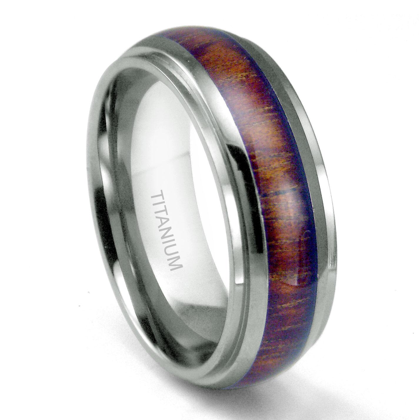 Loading Zoom: Koa Inlay Wedding Ring At Websimilar.org