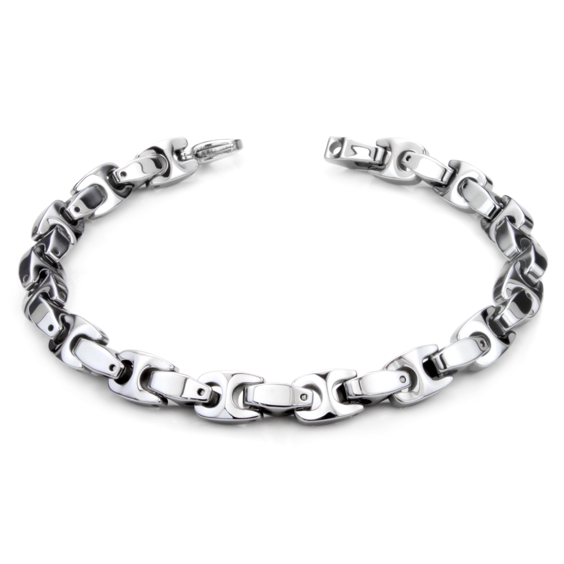 berdalli wide tungsten silver product jewelers bracelet