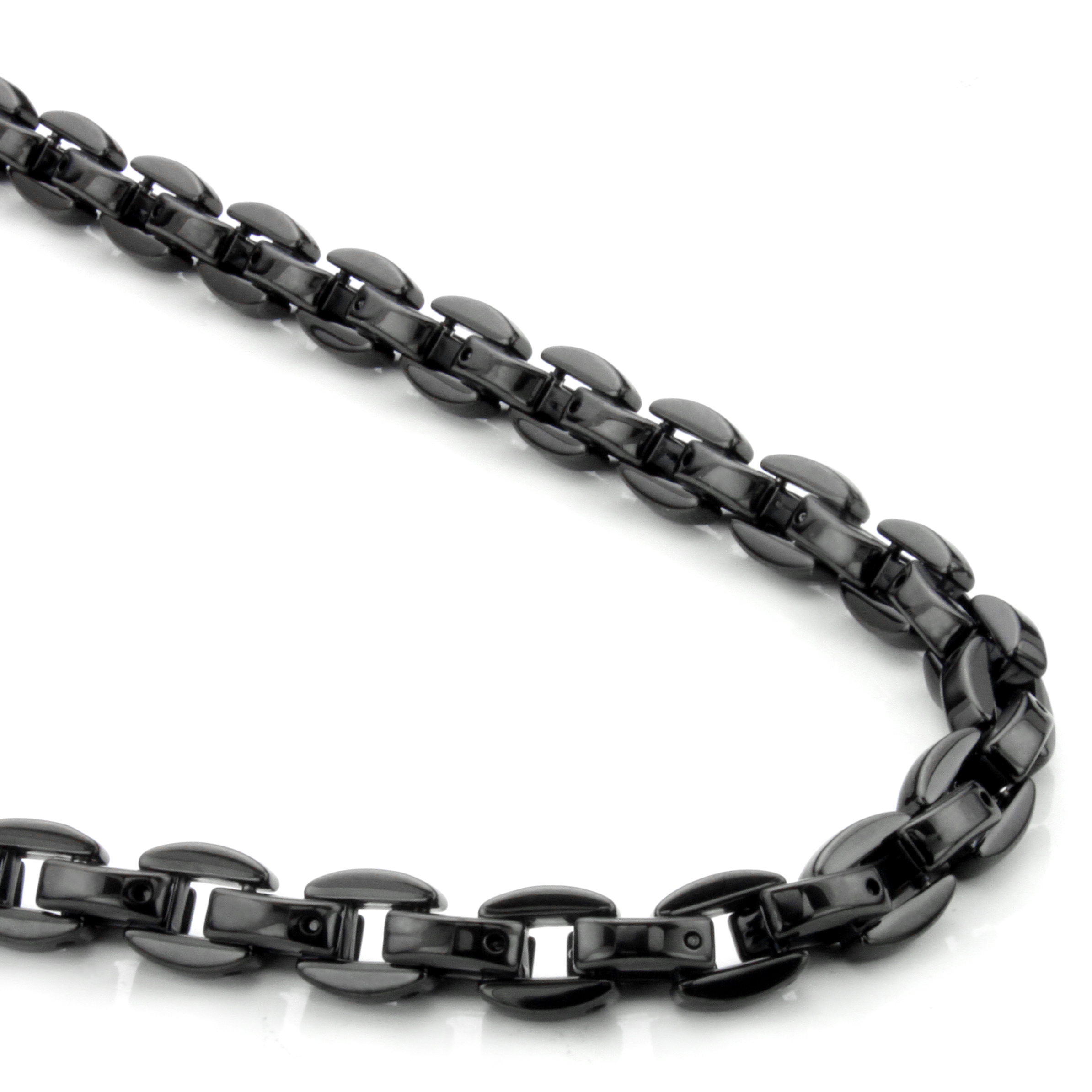 Black tungsten necklace necklace wallpaper gallerychitrak tungsten diamond dog with stainless steel curb necklace 24 impressive black tungsten carbide mens wheat link necklace chain p rope chain jewelry neckalces aloadofball Image collections