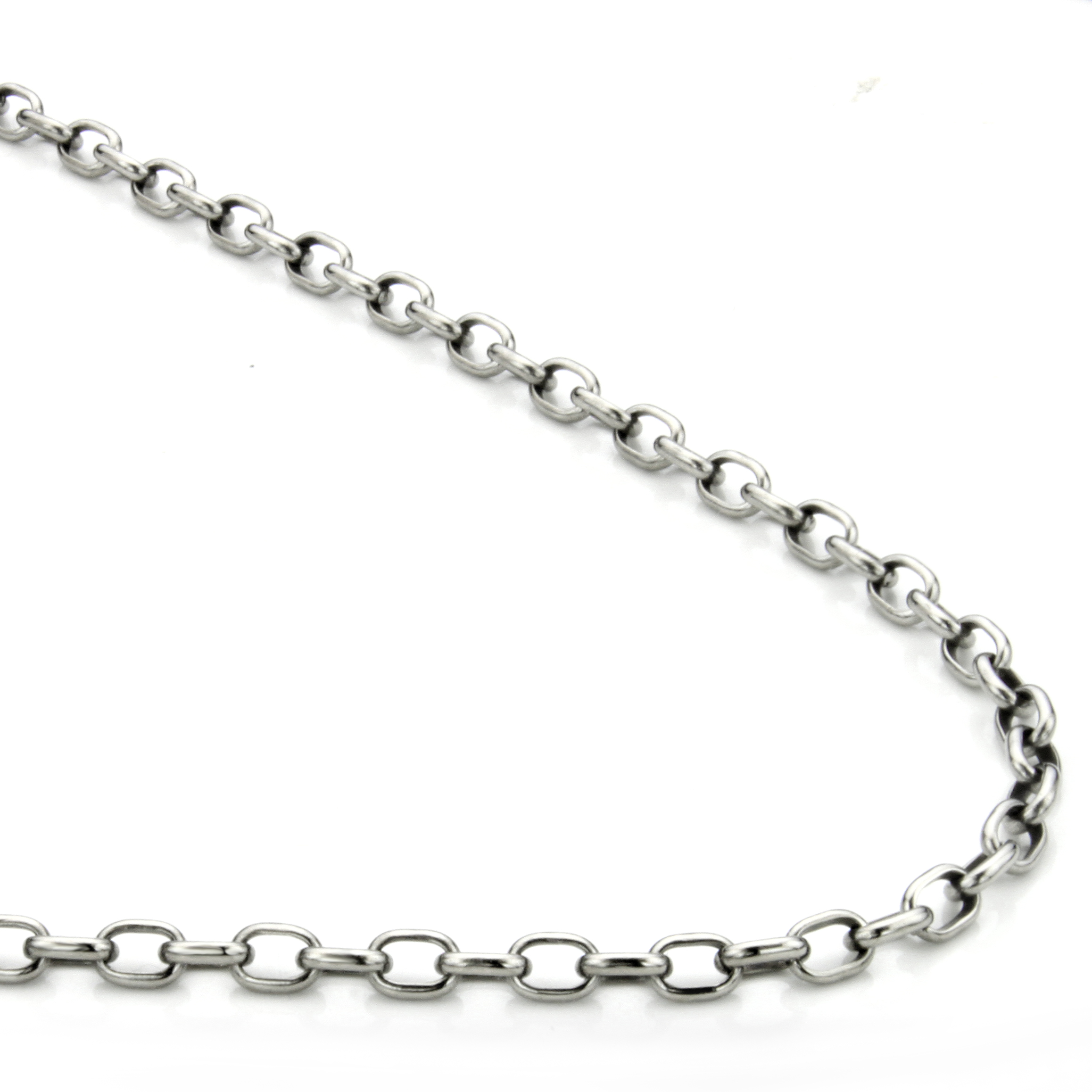 p hand photo view larger sterling large silver chains necklace diamond women lois crafted link hill oval htm s