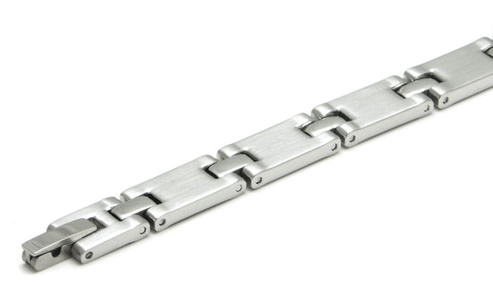 Stainless Steel Two-Tone Finish Link Bracelet