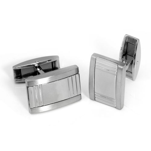 Colibri PRIME Stainless Steel Silver Money Clip Cufflinks Gift Set