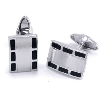 Dolan Bullock REALM Sterling Silver Money Clip Cufflinks Gift Set