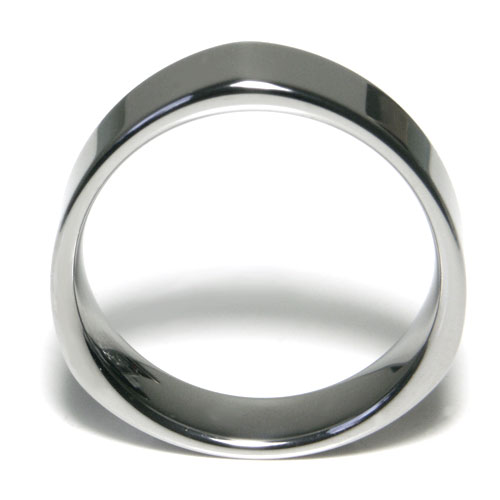 Tungsten Carbide Triangle Trillion Wedding Band Ring