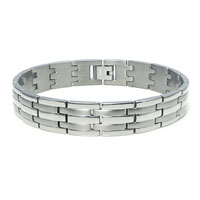 Titanium Men's Two Ton Finish Watchband Bracelet