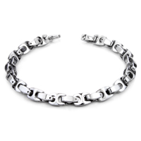 Tungsten Carbide 7MM Marina Link Bracelet
