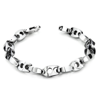Tungsten Carbide 10MM Manhattan Link Bracelet