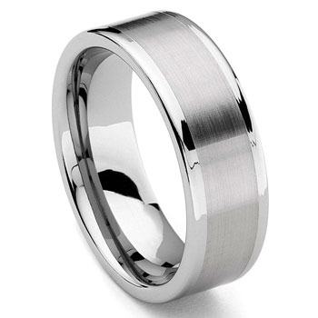 ATHOS Tungsten Carbide Wedding Band Ring