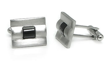 Titanium Resin Cufflinks