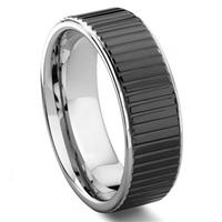 PREMIER COIN EDGE Tungsten Carbide Wedding Band Ring