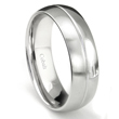 Cobalt XF Chrome 8MM 2-BECOME-1 Wedding Band Ring