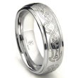 Cobalt XF Chrome 8MM Celtic Wedding Band Ring