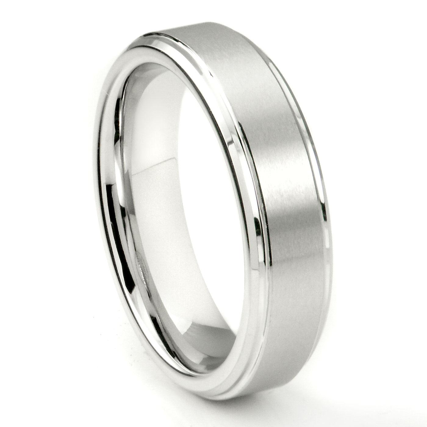 Mens Tungsten Rings & Wedding Bands Titanium Kay