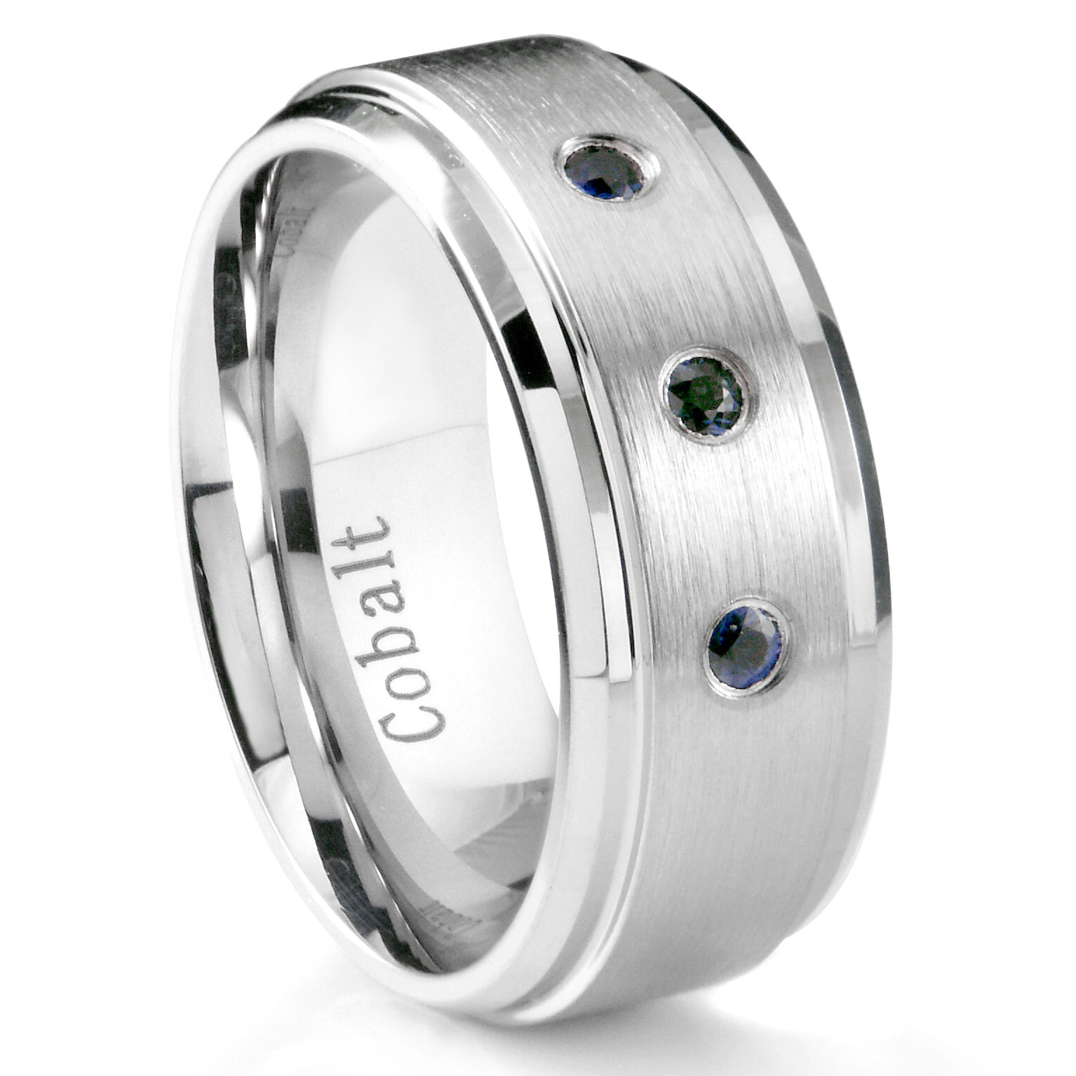 Beautiful Sapphire Rings Wedding Band