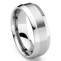 ORIS Tungsten Carbide Wedding Band Ring
